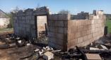 В Кузевичах горело хозяйственное строение
