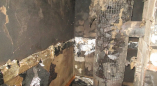 В выходной день в Ровбицке горела баня
