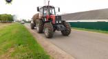 В Пружанском районе трактор насмерть сбил велосипедиста