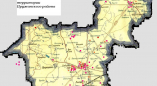 Карта укусов клещей в Пружанском районе за январь - июнь 2020 года