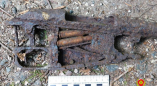 В Пружанском районе обнаружены фрагменты винтовки Мосина с тремя патронами