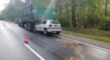 Гольф врезался в трактор: легкового авто и ее пассажирка госпитализированы в УЗ «Пружанская ЦРБ».