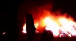 На частном подворье в Щерчово во время пожара уничтожено 4 тонны грубых кормов