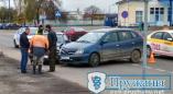 Фото сегодняшней аварии возле вокзала в Пружанах