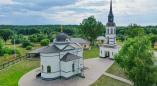 Церковь в Пружанском р-не - копия Тихвинской часовни в Кронштадте и ещё 8 необычных храмов Беларуси