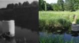 Адгадка. На фотаздымку становішча былой крыніцы, калодзеж якой, знаходзіцца ў канаде Вец у Пружанах.