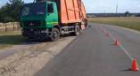 В Пружанах 11-летнюю девочку на велосипеде сбил МАЗ (мусоровоз)