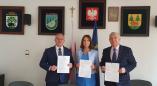 Пружанский район и Гайновский повет подписали соглашение. Евросоюз профинансирует на 59 999 евро