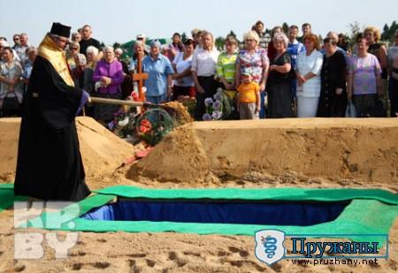 В Брестской области похоронены летчики, погибшие на авиашоу в Польше