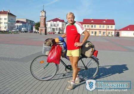За 39 дней 3 850 километров на... велосипеде