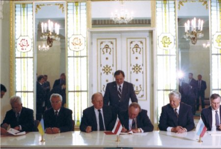 20 год назад у Пружанскім раёне абвясцілі роспуск СССР і стварэньне СНД