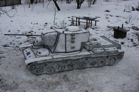 World of Tanks на улицах Пружанщины