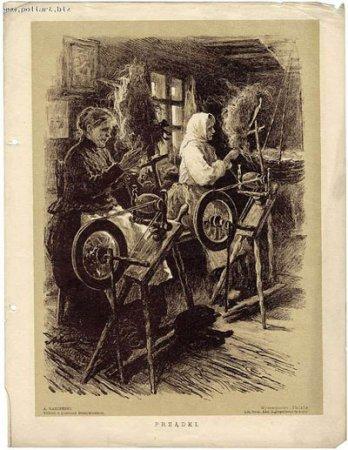 Белавежская пушча на старых паштоўках і гравюрах